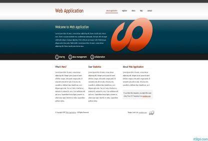 漂亮创意的企业CSS模板