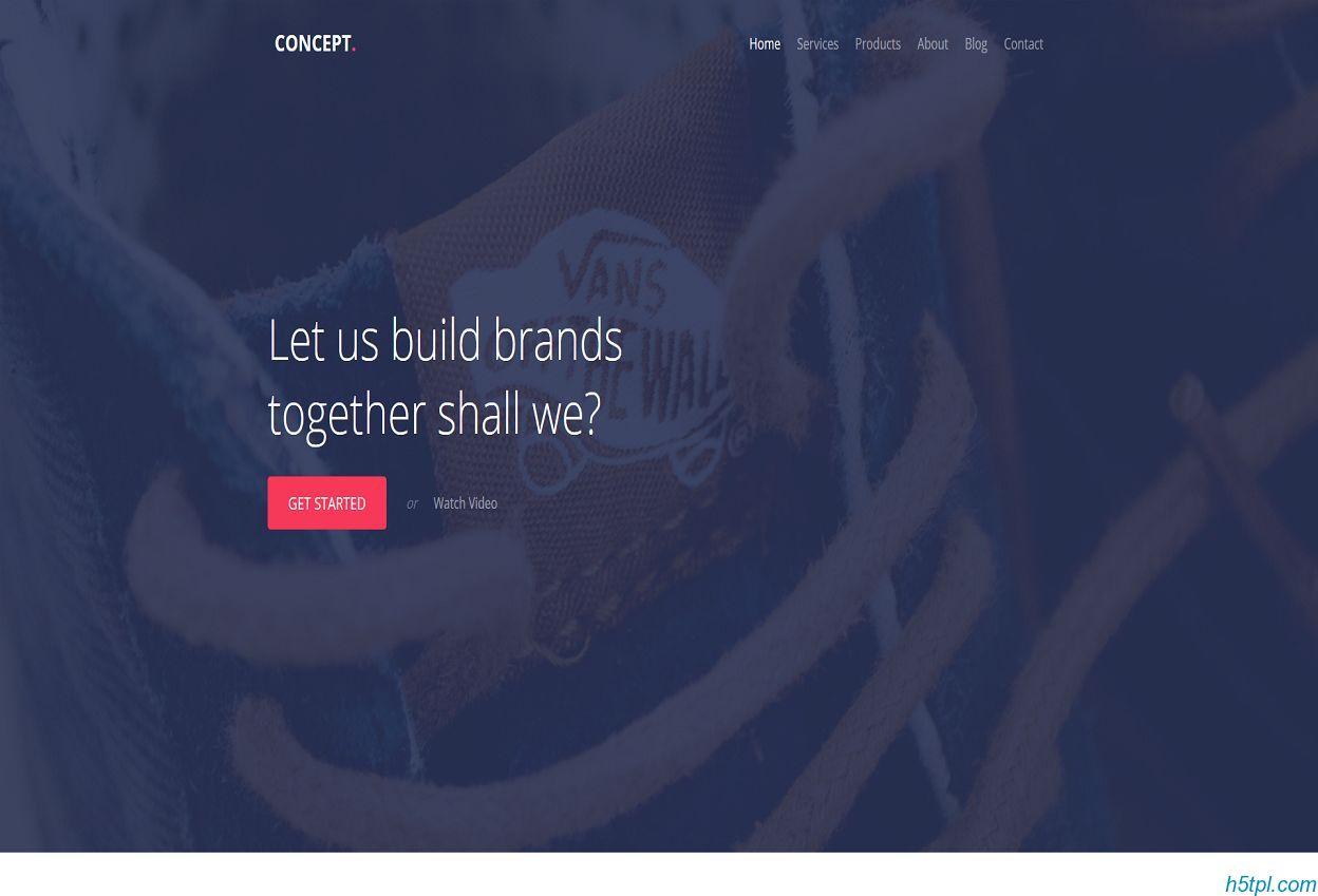 UX设计公司企业官网模板下载