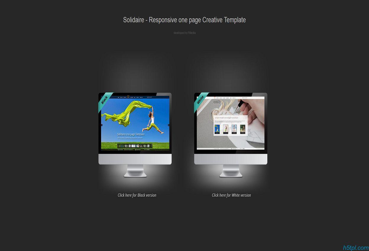 超赞!时尚大气仿Flash交互商业服装网站模板