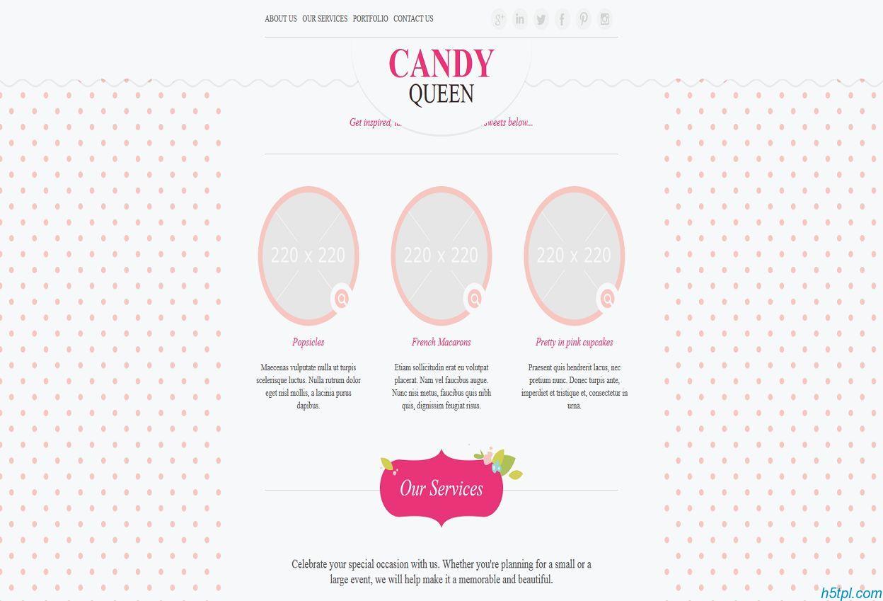 粉色恋爱交友企业网站模板是一款粉色可爱风格的html交友网站模板