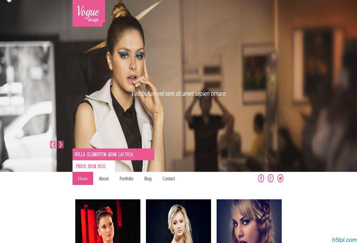棉袄服装公司网站模板是一款适合女士服装生产销售公司HTML网站模板