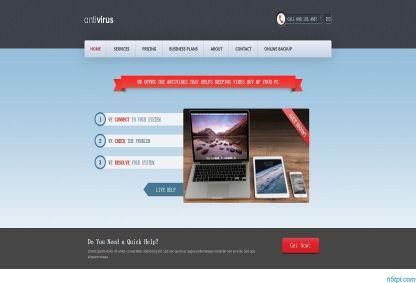 清爽科技APP产品网站模板是一款简洁清爽科技网站模板下载