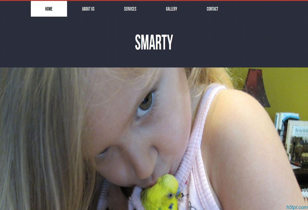 宠物销售网站CSS3模板是一款超大气好看的宠物类网站模板