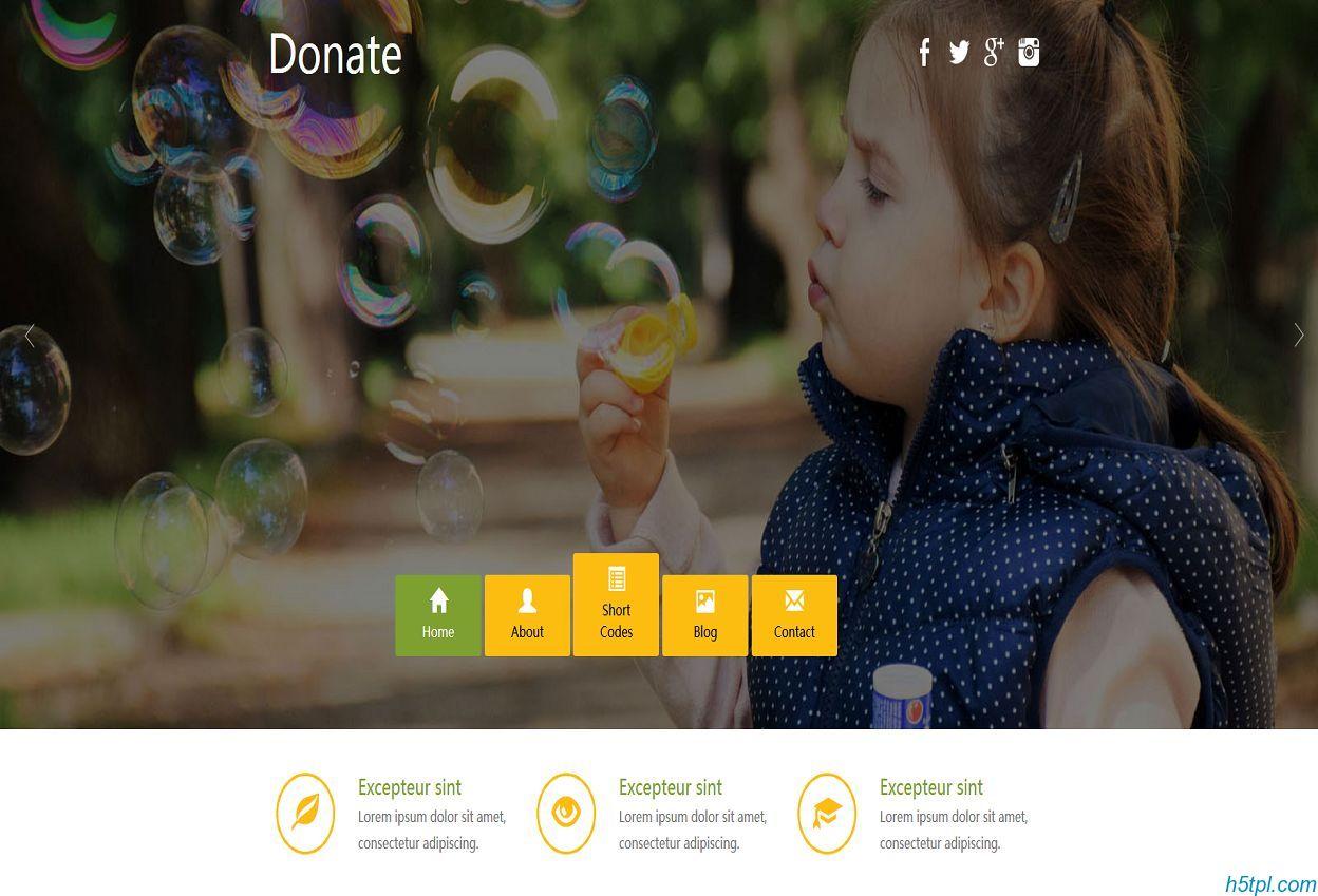 爱心互助公益网站模板是一款适合爱心捐赠公益类社区模板下载